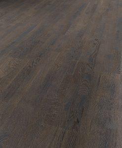 Black Oiled Oak Engineered Parquet wood floor 200mm