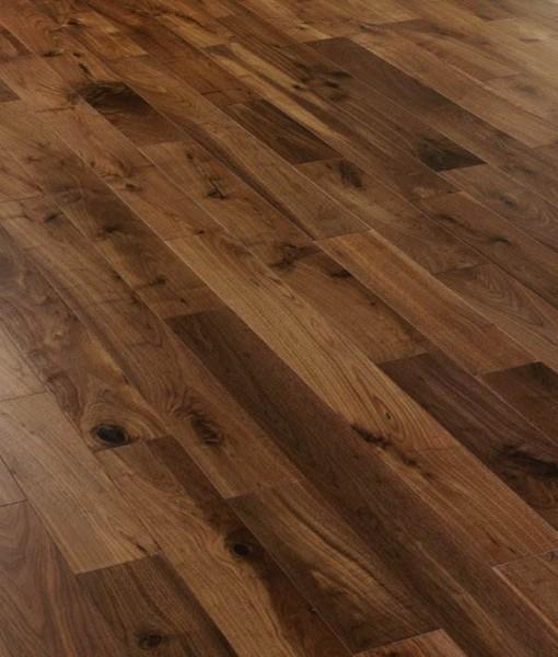 Black American Walnut Engineered Flooring 127mm