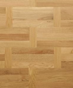 Flemish Pattern Oak multi strip Engineered Click Flooring 190mm