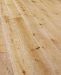 Super engineered Oak wire brushed and white oiled London Stock 189mm