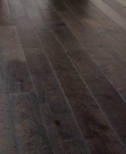 Super engineered real wood flooring Dark Grey oiled London reserve 190 mm
