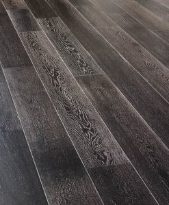 Carbon Baked & Limed Oak super engineered natural wooden flooring London stock 180mm
