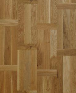 Flemish Pattern Oak multi strip Engineered